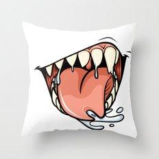 HUNGER Throw Pillow