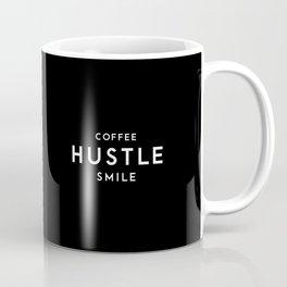 Coffee Hustle Smile Coffee Mug