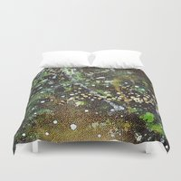 camo Duvet Covers featuring Camo by Art Book Of  Amanda