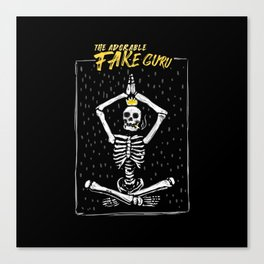 The Fake Guru Canvas Print