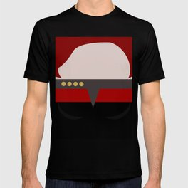 Captian Katherine Janeway - Minimalist Star Trek: Voyager VOY - trektangle - startrek trektangles T-shirt