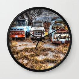 Kicking the Tires 2 Wall Clock
