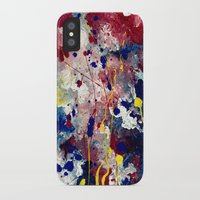 fireworks iPhone & iPod Cases featuring Fireworks by Tia Hank
