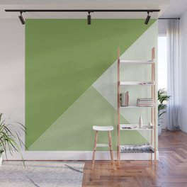 Green Tones Wall Mural
