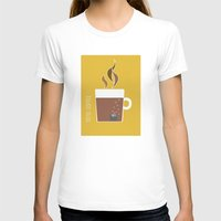 70s T-shirts featuring 70s Coffee by Morgane Cazaubon