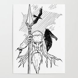 Odin the Wise Poster