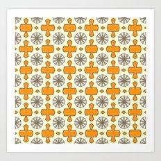 Orange #2 Art Print