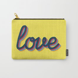 Love - yellow version Carry-All Pouch