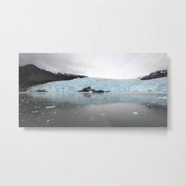 Aialik Glacier Metal Print