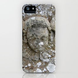 Stone Angel iPhone Case
