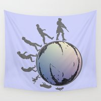 destiny Wall Tapestries featuring Space Evolution  by Astrablink7