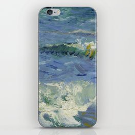 Seascape near Les Saintes-Maries-de-la-Mer iPhone Skin