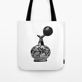 Vintge Perfume Atomizer Tote Bag