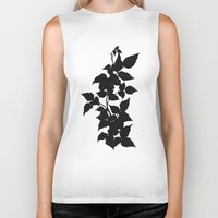 poison ivy Biker Tanks featuring Poison Ivy by V1scera
