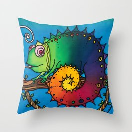 Aren't ALL Chameleons Called George? Throw Pillow
