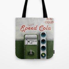 Speed Cola Tote Bag