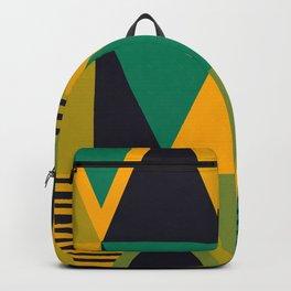 Green Triangles Backpack