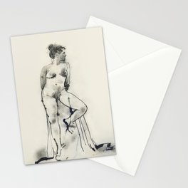 Figure drawing no.1 Stationery Cards