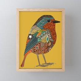 robin gold Framed Mini Art Print