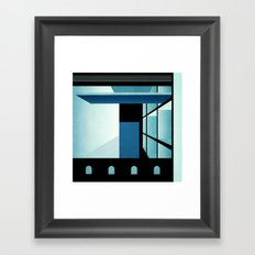 A Tilted Room Framed Art Print