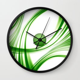 Green 113 Wall Clock