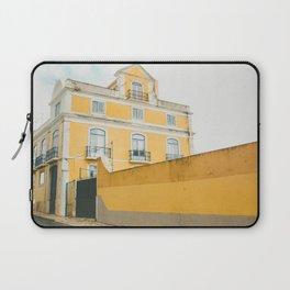 Lisboa in yellow Laptop Sleeve