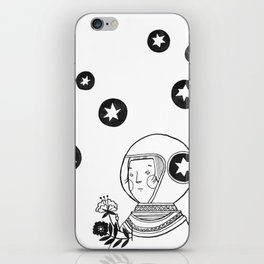 Cosmonaut  iPhone Skin