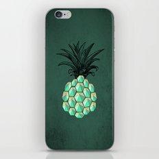pineapple anatomy 4 iPhone & iPod Skin