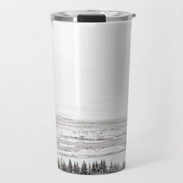 Thingvellir National Park-White Winter Travel Mug