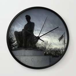 Lincoln in Jersey City Wall Clock