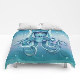 Octopus Dilemma Comforters