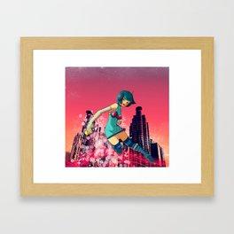 Funky Dealer - Ryth Framed Art Print