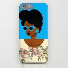 Postcard Woman Blue Slim Case iPhone 6s