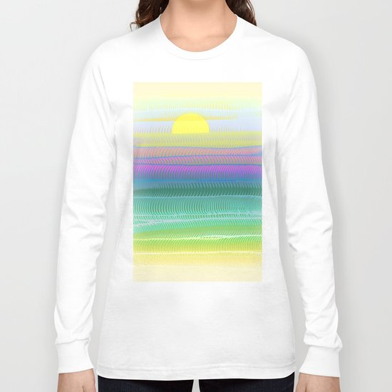 Sun Summer Long Sleeve T-shirt