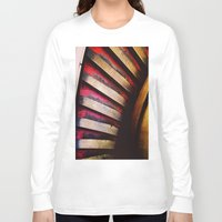 feet Long Sleeve T-shirts featuring Many Feet by Thick Paint Works