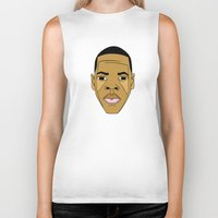 jay z Biker Tanks featuring Jay-Z by Λdd1x7