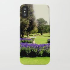 Botanical Garden iPhone X Slim Case