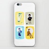 ghibli iPhone & iPod Skins featuring Ghibli Gijinkas by TEAM JUSTICE ink.