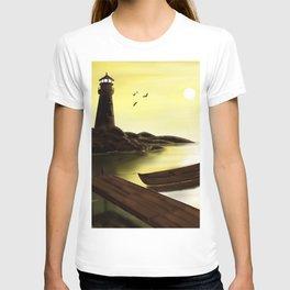 Lighthouse at Sunrise T-shirt