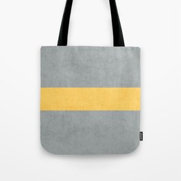 gray and yellow classic Tote Bag