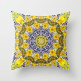 Lavender Star Throw Pillow