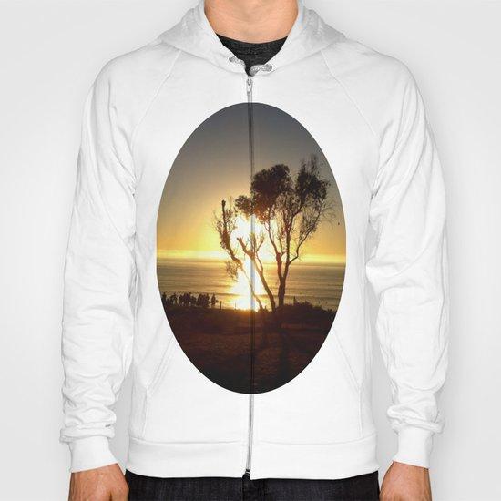 Fire and Water - a California sunset Hoody
