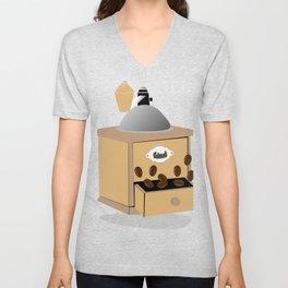 coffee grinder Unisex V-Neck