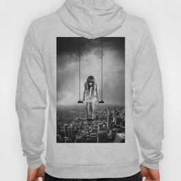 Girl Looking from Above Hoody