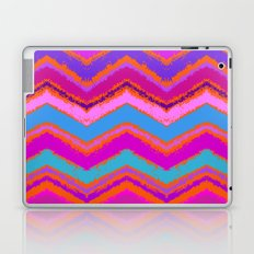 Purple zigzag Laptop & iPad Skin