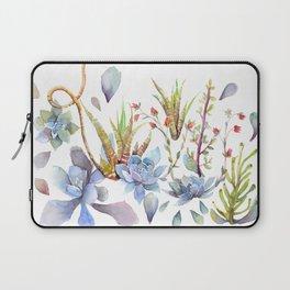 A Succulent Mixture Botanical Design Laptop Sleeve