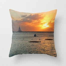Sultry with a Twist Throw Pillow