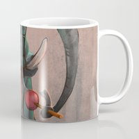 ellie goulding Mugs featuring Lollipop Ellie by nekka