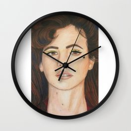 Marina // Heart Upon My Cheek Wall Clock