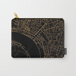 Vientiane map, Laos Carry-All Pouch
